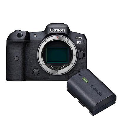 Canon EOS R5 單機身(公司貨) + Canon 原廠電池 LP-E6NH 組