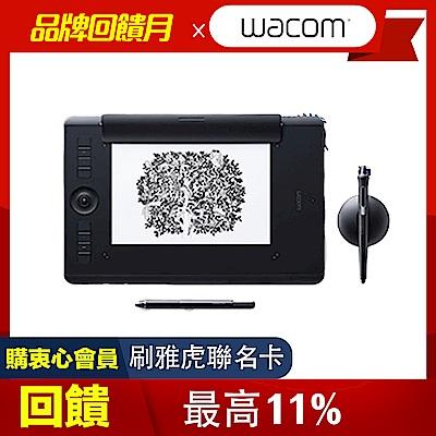 (送羅技無線鍵鼠組+無線滑鼠)【漫畫學習包】Intuos Pro medium Paper Edition 雙功能繪圖板