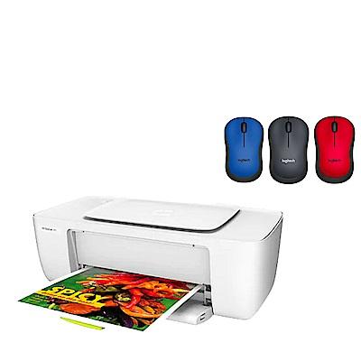 超值組-HP DJ1110 彩色噴墨印表機+羅技 M221靜音無線滑鼠 product thumbnail 2