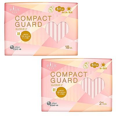 (3包組)日本大王elis 愛麗思 GO可愛超薄衛生棉 稜鏡香氛限定版(2款任選)