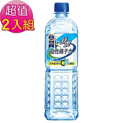 舒跑 鹼性離子水(850mlx20入) 超值2箱組