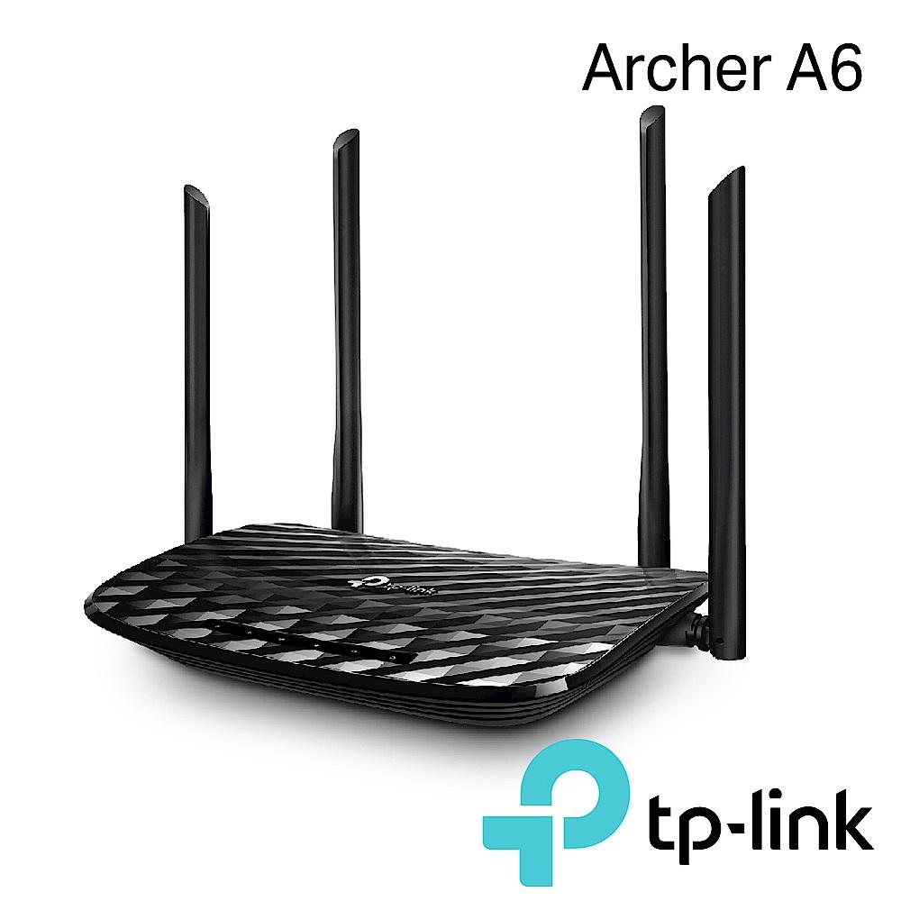 TP-Link Archer A6 AC1200Giga雙頻無線網路分享器+延伸器套餐