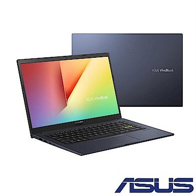 (Office 365組合) ASUS X413FA 14吋筆電 (i5-10210U/8G/512GB/VivoBook 14/酷玩黑)