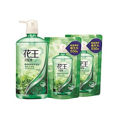 [時時樂限定] 花王KAO 洗髮精1瓶+2補超值組