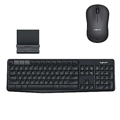 羅技 K375s 無線鍵盤支架組合+M221靜音無線滑鼠