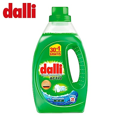 德國Dalli 強力去頑汙特優組_全效洗衣精 (1.1L/瓶)3入
