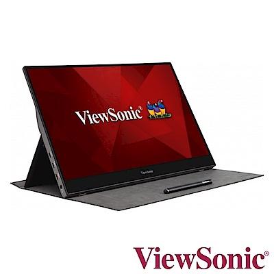 (超值組) ViewSonic TD1655 16型 IPS觸控式可攜帶電腦螢幕+TOSHIBA A3 4TB USB3.0 2.5吋行動硬碟 黑靚潮III product thumbnail 3