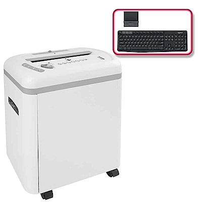 (震旦+羅技)震旦行12張多功能碎紙機(AS1219CE)+羅技 K375s 無線鍵盤支架