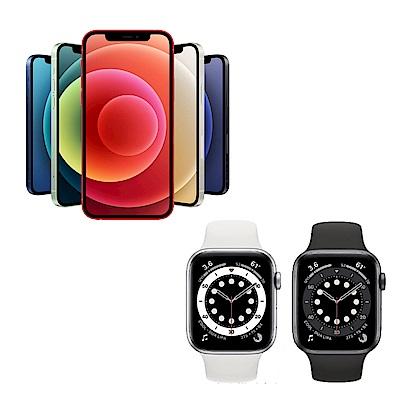 (Apple心動組合) iPhone 12 64G +Watch Series 6 (GPS) 44mm