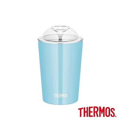 (組)[買一送一]膳魔師不鏽鋼真空杯0.3L(JDJ-300-LB)+凱菲矽膠折疊杯0.35L(TCFC-350-LP) product thumbnail 2