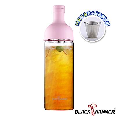 (組)[買1送1]Black Hammer 勻淨耐熱玻璃水瓶-1110ml product thumbnail 5