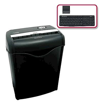 (震旦+羅技)震旦6張碎斷式碎紙機(AS662C)+羅技 K375s 無線鍵盤支架組合