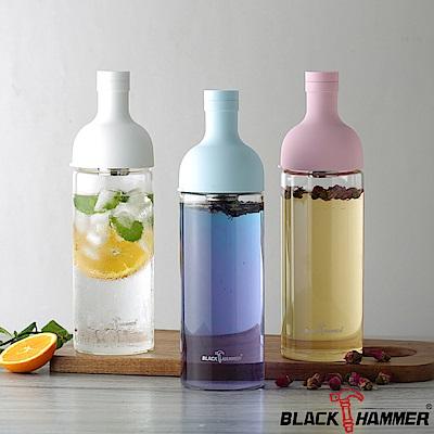 (組)[買1送1]Black Hammer 勻淨耐熱玻璃水瓶-1110ml product thumbnail 6
