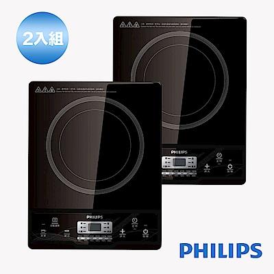 [二入組]【PHILIPS 飛利浦】智慧變頻電磁爐 (HD4924)