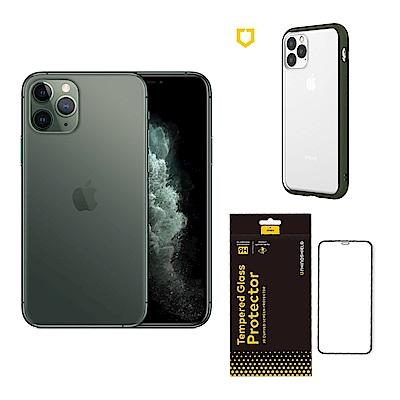 Apple超值組-iPhone 11 Pro 64G+犀牛盾邊框背蓋二用殼+滿版玻璃貼