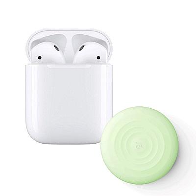 Apple超值組-AirPods搭配無線充電盒 + 亞果10W無線充電板