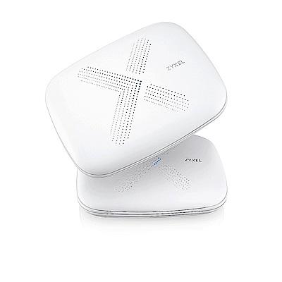 ZyXEL合勤 Multy X 三頻全覆蓋無線延伸系統 WSQ50雙包裝