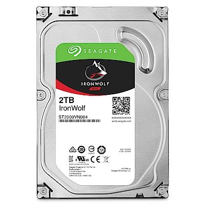 【NAS組合】Seagate 2TB 2入組 NAS硬碟(ST2000VN004)+ QNAP TS-251D-2G 網路儲存伺服器 product thumbnail 3