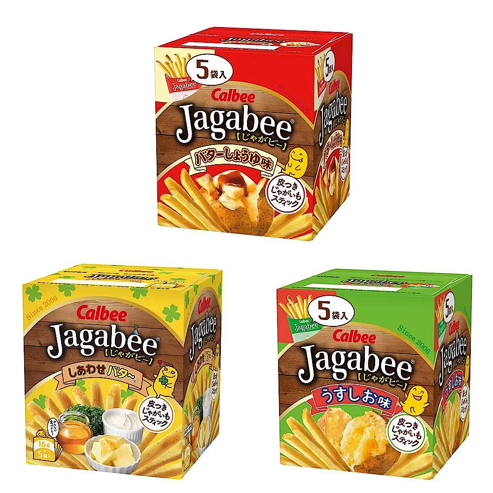 Calbee日本加卡比薯條系列(5袋/盒) 2入組