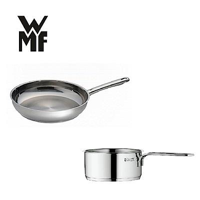 (組)德國WMF 煎鍋28CM+單手鍋14CM(快)(時時樂)
