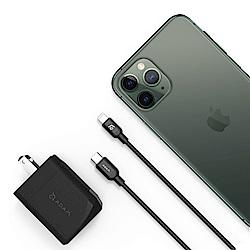 Apple超值組- iPhone 11 Pro Max 64G + 亞果元素快充組