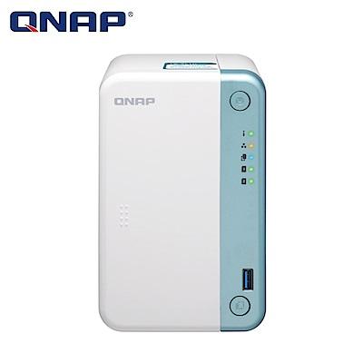 【NAS組合】Seagate 8TB 2入組 NAS硬碟(ST8000VN004)+ QNAP TS-251D-2G 網路儲存伺服器 product thumbnail 2