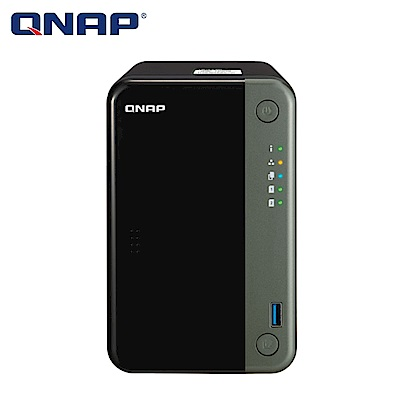 【NAS組合】WD 4TB 2入組 NAS硬碟(WD40EFZX)+ QNAP TS-253D-4G 網路儲存伺服器 product thumbnail 2