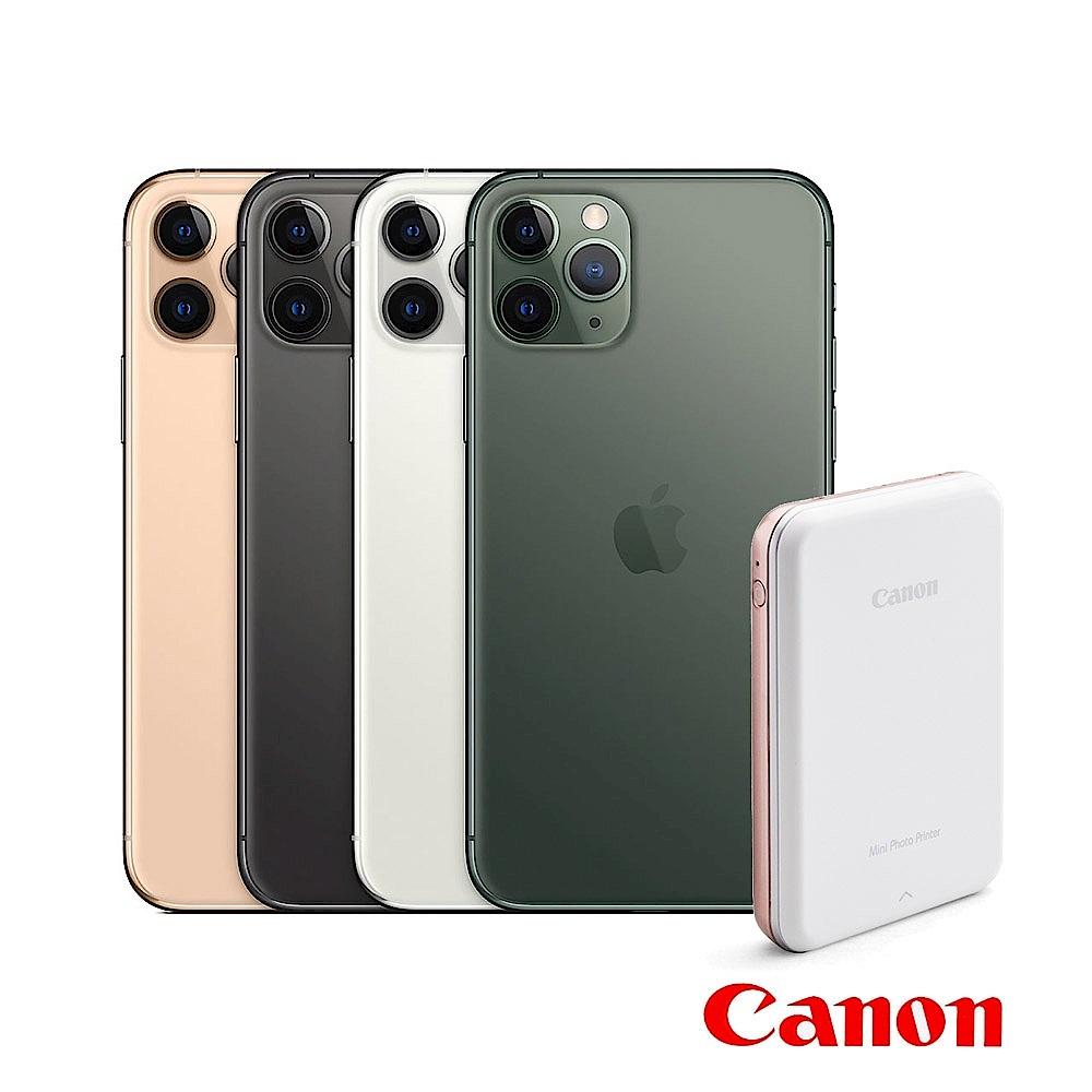 Apple超值組-iPhone 11 Pro 512G智慧型手機+Canon迷你相片印表機