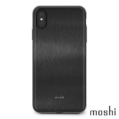 [超值組]Moshi IGlaze forXS Max 風尚晶亮保護殼+磁吸手機車用支架