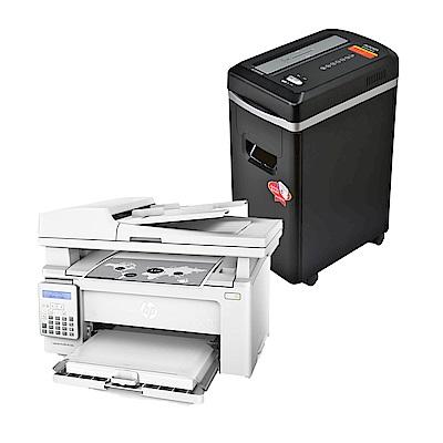 超值組-HP LaserJet Pro M130fn 黑白傳真四合一雷射印表機+AURORA 震旦 8張細碎式碎紙機(AS890MQ) product thumbnail 2