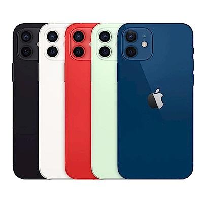 [年終好禮組]Apple iPhone 12 128G 6.1吋智慧型手機+Apple Watch S6 44mm 鋁金屬錶殼配運動錶帶(GPS)