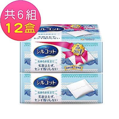 絲花 化妝棉(80片 x 2盒x6組-共12盒)