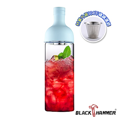 (組)[買1送1]Black Hammer 勻淨耐熱玻璃水瓶-1110ml product thumbnail 3