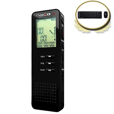(震旦+羅技)NEED尼德錄音筆CR-801 + 羅技MK220無線鍵鼠組