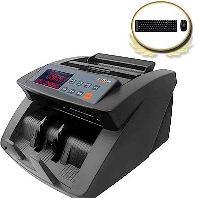 (震旦+羅技)AGIM多國貨幣點驗鈔機 TW-616 + 羅技MK220無線鍵鼠組