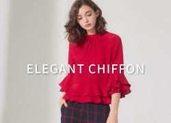 Elegant chiffon