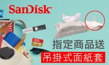 SanDisk-指定品項送面紙套