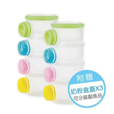 小獅王辛巴 溜滑梯專利衛生奶粉盒2入組