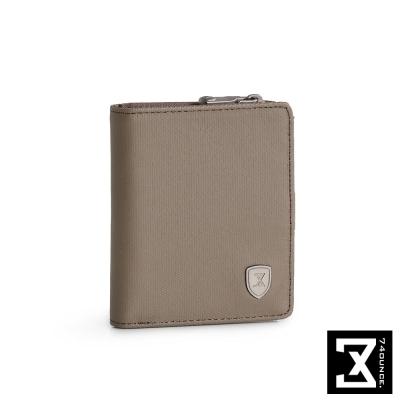 74盎司 FIT 時尚三折短夾(零錢袋)[N-510]軍綠