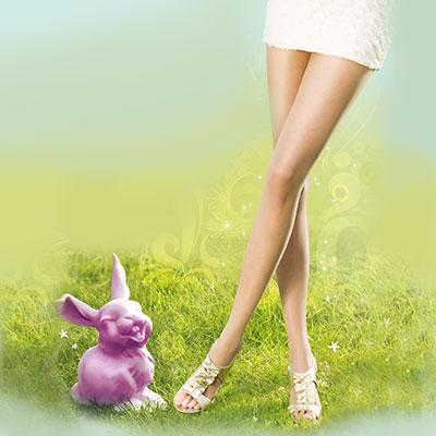 【摩達客】英國進口Pretty Polly 自然透明前開露趾設計彈性絲襪