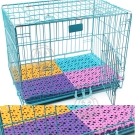 dyy寵物籠專用》貓狗籠糖果色不卡腳防滑墊|踏墊網格墊子30*20cm*4片
