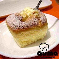奧瑪烘焙 北海道牛奶戚風蛋糕(8入/盒)x2