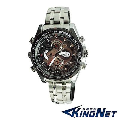 監視器攝影機 - KINGNET 紅外線 夜視手錶型 偽裝針孔攝影器 蒐證密錄 房仲 律師