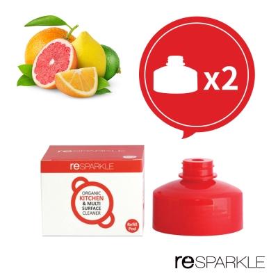 澳洲reSPARKLE 綠思寶-清潔劑補充蓋-2入  (廚房、多功能)