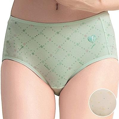嬪婷-學生系列寶貝棉 M-LL 中腰三角褲(清新黃)舒適透氣