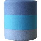 YKS-三色拼接圓筒造型小凳椅(兩款)(兩入)