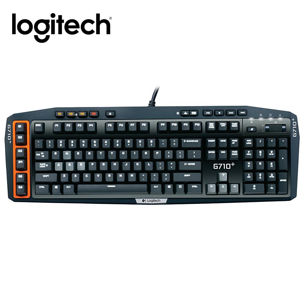 羅技 機械遊戲鍵盤G710+