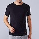 ELLE HOMME皮紋萊卡短袖T恤-E84101