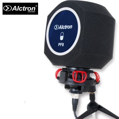 ALCTRON PF8 錄音用防風屏 防噪海綿款