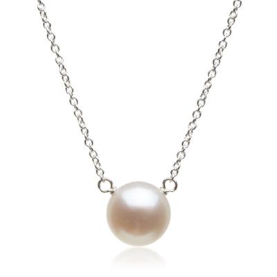 【Dogeared】美國品牌名媛氣質小白珍珠純銀項鍊